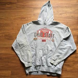 Vintage gray Ohio State Nike hoodie